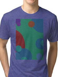 circles abstract Tri-blend T-Shirt