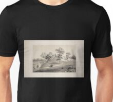 664 View of the arbor on the eastside near 5th Avenue From Central Park album 1862 Unisex T-Shirt