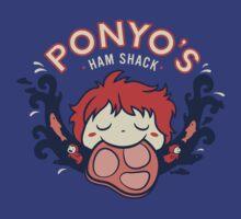 Ponyo's Ham Shack by amandaflagg
