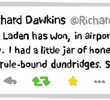 Richard Dawkins' Best Tweet Ever by illustruction