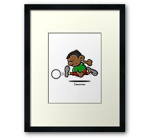2014 World Cup - Cameroon Framed Print
