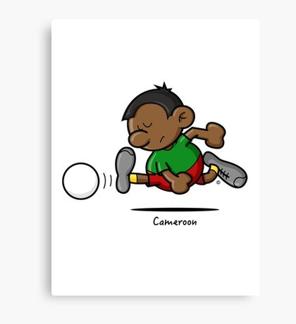2014 World Cup - Cameroon Canvas Print