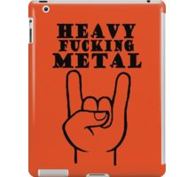 Heavy Metal iPad Case/Skin