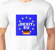 DEXIT Deutschland leave EU Unisex T-Shirt