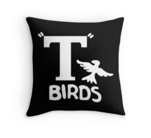 T Birds from Grease Throw Pillow