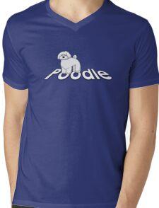 Poodle Cockapoo Labradoodle Mens V-Neck T-Shirt
