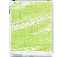 USGS TOPO Map Arkansas AR Bates 259988 1958 62500 iPad Case/Skin