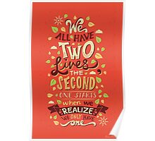Two Lives Poster