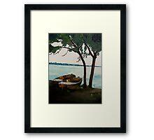 river Danube Framed Print