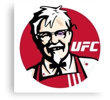 Colonel UFC Canvas Print