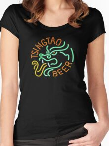 Blade Runner Tsingtao Beer Women's Fitted Scoop T-Shirt