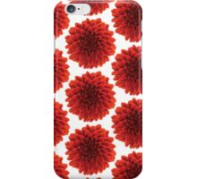 Beautiful Dahlia pattern design iPhone Case/Skin