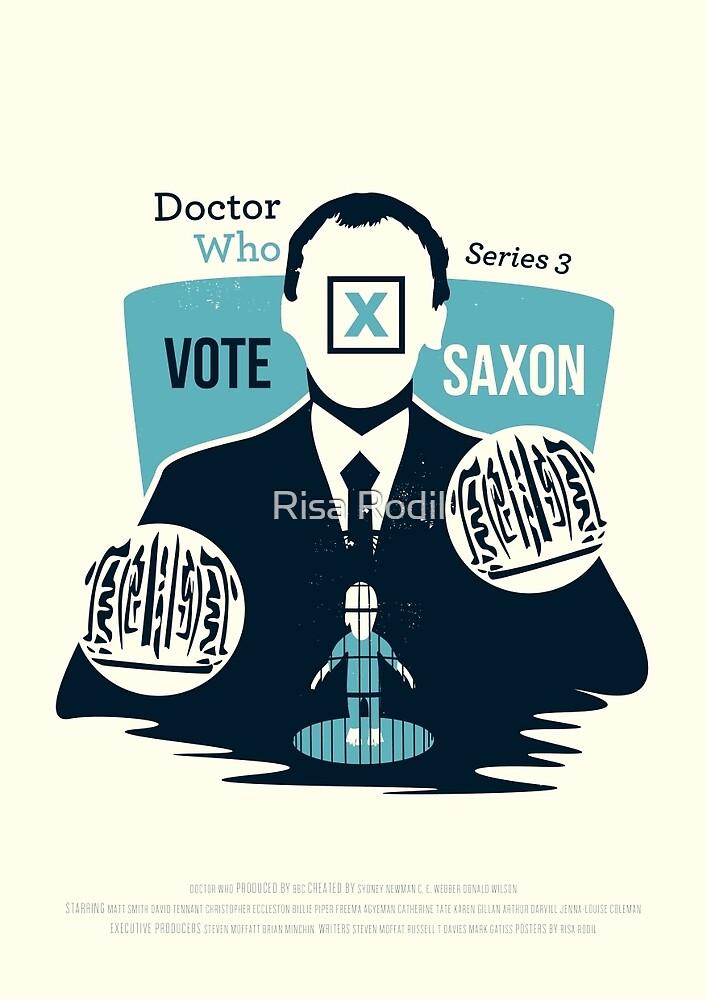 Vote Saxon by Risa Rodil