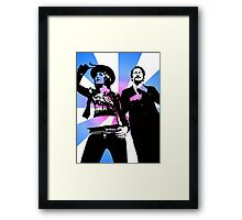 The Mighty Boosh Framed Print