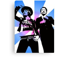 The Mighty Boosh Canvas Print