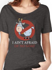 Bill murray cubs shirt - I Ain't Afraid Of No Goat Shirts Women's Relaxed Fit T-Shirt