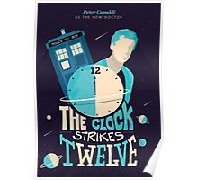 The Clock Strikes Twelve | Doctor Who Poster