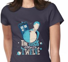 The Clock Strikes Twelve  Womens Fitted T-Shirt