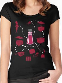 Yzma's Potion Women's Fitted Scoop T-Shirt