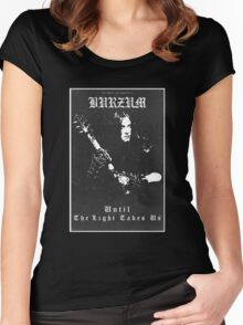 Until The Light Takes Us - Burzum Women's Fitted Scoop T-Shirt