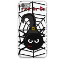 Halloween cute spider iPhone Case/Skin