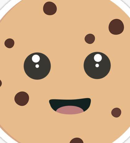 chocolate chip cookie kawaii Sticker