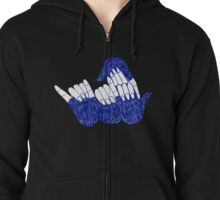 All together rock'n'roll Zipped Hoodie