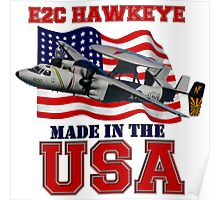 E-2C Hawkeye Made in the USA Poster