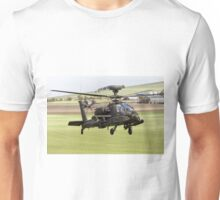 British Army Air Corps AugustaWestland Apache AH1 Helicopter Unisex T-Shirt