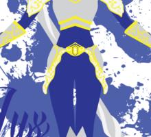 Lux, the Lady of Luminosity Sticker
