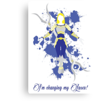 Lux, the Lady of Luminosity Canvas Print