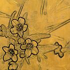 Gold Blossoms 1 by Karyn Fendley