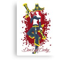 Miss Fortune, the Bounty Hunter Canvas Print