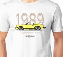 Porsche 911 Carrera Speedster (yellow) Unisex T-Shirt
