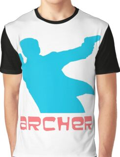 Archer silhouette coloured Graphic T-Shirt