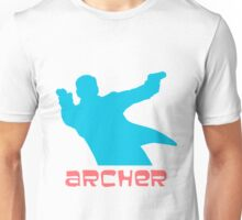 Archer silhouette coloured Unisex T-Shirt