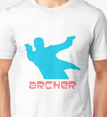 Archer silhouette coloured Unisex T-Shirt