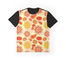 Floral pattern background  Graphic T-Shirt