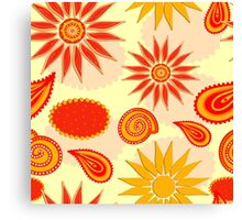 Floral pattern background  Canvas Print