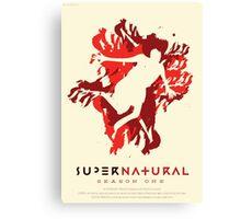 Supernatural Season 1 Canvas Print