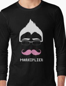 Markiplier/Warfstache (White Logo) Long Sleeve T-Shirt