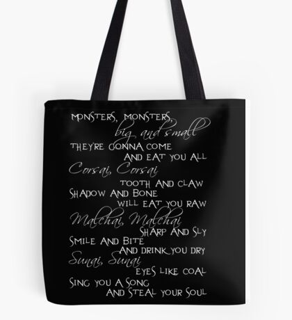 monsters big and small Tote Bag