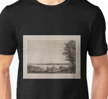 671 View of the City of New York taken from Long Island Unisex T-Shirt