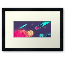 Kurzgesagt - In a Nutshell  Framed Print
