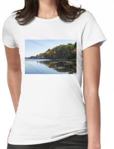 Glossy Fall -  Womens Fitted T-Shirt