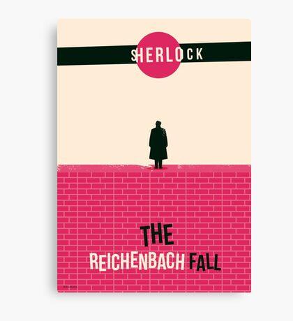 Reichenbach Fall Canvas Print