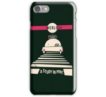 Study in Pink iPhone Case/Skin