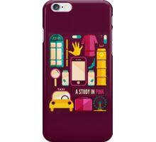 Sherlock Icons Poster iPhone Case/Skin