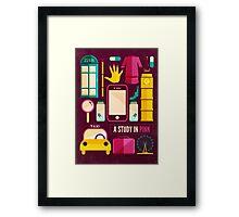 Icons Poster Framed Print