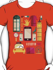 Sherlock Icons Poster T-Shirt